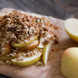 Summertime Apple Crumble